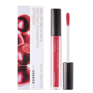 Γυναίκα Korres Morello Voluminous Lipgloss με Εξαιρετική Λάμψη & Γεμάτο Χρώμα No19 Watermelon 4ml