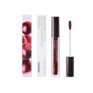 Γυναίκα Korres Morello Voluminous Lipgloss με Εξαιρετική Λάμψη & Γεμάτο Χρώμα Bloody Cherry No58 – 4ml