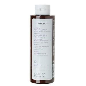 Σαμπουάν Korres Σαμπουάν για Ξηρά Αφυδατωμένα Μαλλιά με Αμύγδαλο & Λινάρι – 250ml