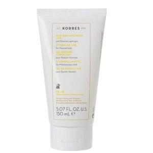 Περιποίηση Μαλλιών-Άνδρας Korres Ζελέ Φορμαρίσματος Lime για Ελαστικό Κράτημα – 150ml