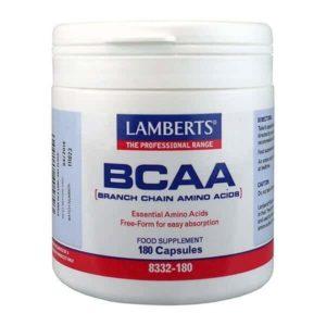 Αμινοξέα Lamberts – Συνδιαμός Αμινοξέων BCAA – 180tabs