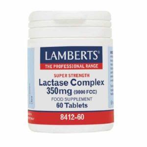 Αντιμετώπιση Lamberts – Συμπλήρωμα Διατροφής με Σύμπλεγμα Λακτάσης 350mg για την Ευκολότερη Πέψη της Λακτόζης – 60tabs