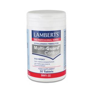 Βιταμίνες Lamberts – Συμπλήρωμα Διατροφής Υψηλής Δραστικότητας Φόρμουλα Βιταμινών & Μετάλλων – 30tabs
