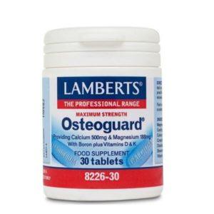 Αντιμετώπιση Lamberts – Osteoguard Ολοκληρωμένη Φόρμουλα για Υγειή Οστά – 30tabs