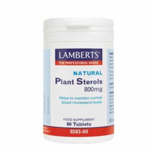 Αντιμετώπιση Lamberts – Φυτικές Στερόλες 800mg για τη Χοληστερίνη – 60tabs