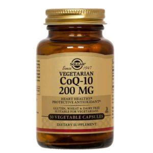 Αντιμετώπιση Solgar – Συμπλήρωμα Διατροφής με Συνένζυμο Q10 200mg – 30veg.caps