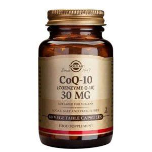 Αντιμετώπιση Solgar – Συμπλήρωμα Διατροφής με Συνένζυμο Q10 30mg – 60veg.caps