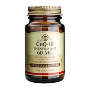 Αντιμετώπιση Solgar – Συμπλήρωμα Διατροφής με Συνένζυμο Q10 60mg – 30veg.caps