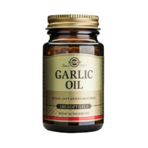 Antioxidants Solgar – Garlic Oil 100 softgels