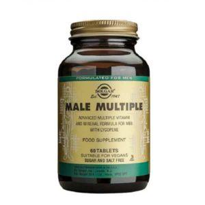 Διατροφή & Υγεία Solgar – Πολυβιταμίνη με όλες τις Απαραίτητες Βιταμίνες Μέταλλα Ιχνοστοιχεία και Φυτοστοιχεία που Βοηθούν στη Στήριξη της Γενικότερης Υγείας του Άνδρα – 60 tabs