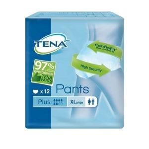 Βρακάκι Pant Νύχτας Tena – Πάνα Βρακάκι Ενηλίκων Plus X-Large – 12τμχ