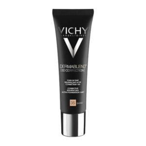Γυναίκα Vichy Dermablend 3D Correction SPF25 Sand 35 – Make up για Λιπαρά ή με Τάση για Ακμή Δέρματα – 30ml