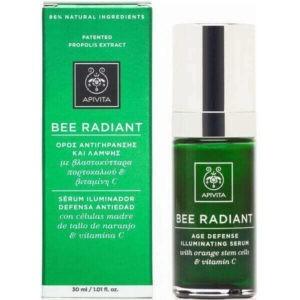 Woman Apivita Bee Radiant Age Defence Illuminating Serum 30ml