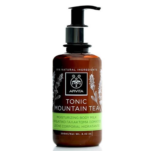Άνδρας Apivita Tonic Mountain Tea Ενυδατικό Γαλάκτωμα Σώματος – 200ml