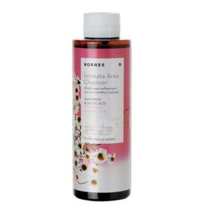 Γυναίκα Korres Intimate Area Cleanser Καθαρισμός Ευαίσθητης Περιοχής με Χαμομήλι & Lactic Acid – 250ml