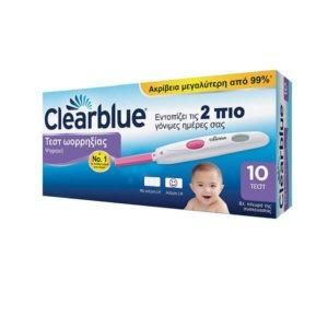 Φαρμακείο Clearblue Digital Ovulation Test (10τεμ) – Ψηφιακό Τεστ Ωορρηξίας