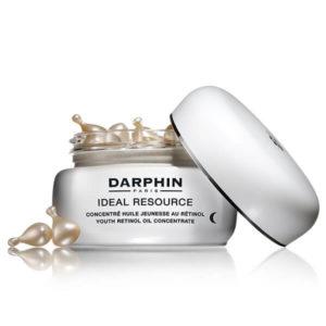 Περιποίηση Προσώπου Darphin – Ideal Resource Αντιγηραντική Φροντίδα Νυχτός με Κάψουλες Ρετινόλης 60caps