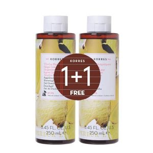 1+1 Gift Korres Showergel Ginger Lime 250ml (1+1 Gift)