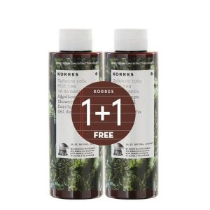 1+1 Gift Korres Showergel Green Tea 250ml (1+1 Gift)