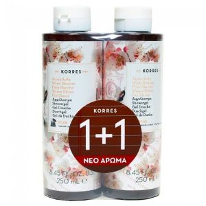 Woman Korres Showergel White Blossom 250ml (1+1 Gift)