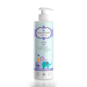 Σαμπουάν - Αφρόλουτρα Βρεφικά Pharmasept Baby Care Mild Bath Απαλό Βρεφικό Αφρόλουτρο Για Σώμα & Μαλλιά 500ml