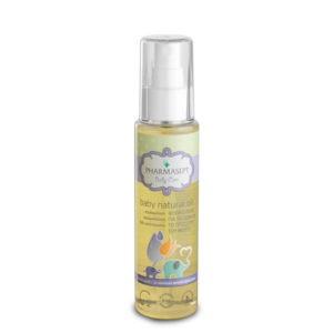Μαμά - Παιδί Pharmasept – Baby Natural Oil Φυσικό Λάδι για το Σώμα και Πρόσωπο του Μωρού 100ml