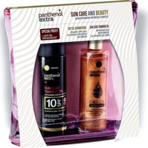 Woman Medisei Panthenol Extra Tanning Sun Care & Dry Oil Shimmering 100ml