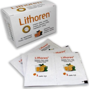 Diuretic Meditrina –  Lithoren BT 30 Sachets with Orange Flavour