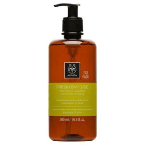 Γυναίκα Apivita – Frequent Use Gentle Daily Shampoo Απαλό Σαμπουάν Καθημερινής Χρήσης με Χαμομήλι και Μέλι 500ml