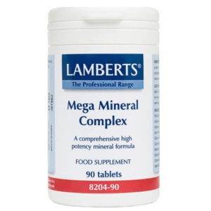 Άθληση - Κακώσεις Lamberts – Συμπλήρωμα Διατροφής Υψηλής Δραστικότητας Μετάλλων 90 tabs