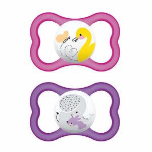 Αξεσουάρ Μωρού Mam Air Πιπίλα Latex 6+ Μηνών 216L 2τμχ
