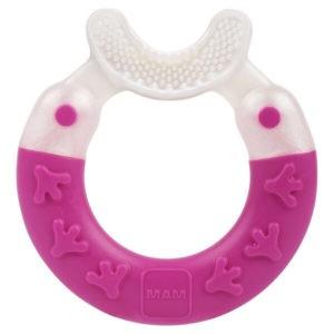 Αξεσουάρ Μωρού Mam Bite & Brush Πολυκρίκος Καθαρισμού Δοντιών με Πολύ Μαλακή Βούρτσα 3+ Μηνών 1τμχ