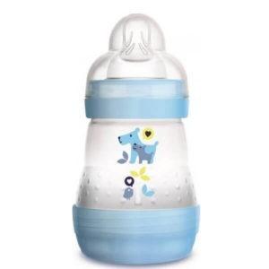 Μαμά - Παιδί Mam Easy Start Anti-Colic Μπιμπερό κατά των Κολικών με Θηλή από Σιλικόνη 0+ Μηνών 160ml
