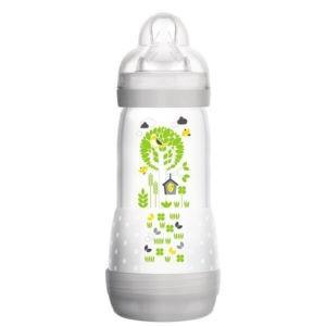 Μαμά - Παιδί Mam Easy Start Anti-Colic Μπιμπερό κατά των Κολικών με Θηλή από Σιλικόνη 4+ Μηνών 320ml