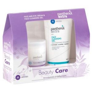 Αντιγήρανση - Σύσφιξη Medisei – Panthenol Extra  Beauty Care Αντιγυραντική Κρέμα Προσώπου και Ματιών 50ml και Καθαριστικό Τζέλ Προσώπου 150ml
