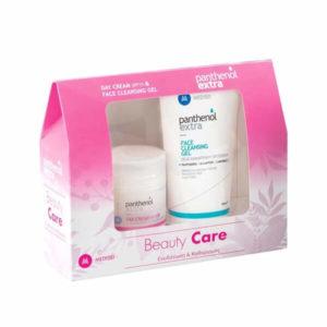 Άνδρας Medisei – Panthenol Extra Beauty Care Set με Ενυδατική Κρέμα SPF15 50ml και Τζέλ Καθαρισμού 150ml