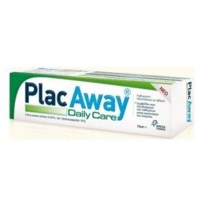 Μαμά - Παιδί Plac Away – Daily Care Οδοντόκρεμα κατά της Τερηδόνας με Γεύση Δυόσμο 75ml
