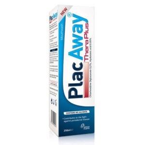 Στοματική Υγιεινή-ph Plac Away – Χλωρεξιδίνη 0.20% – Υαλουρονικό Οξύ 0.05% Στοματικό Διάλυμα 250ml
