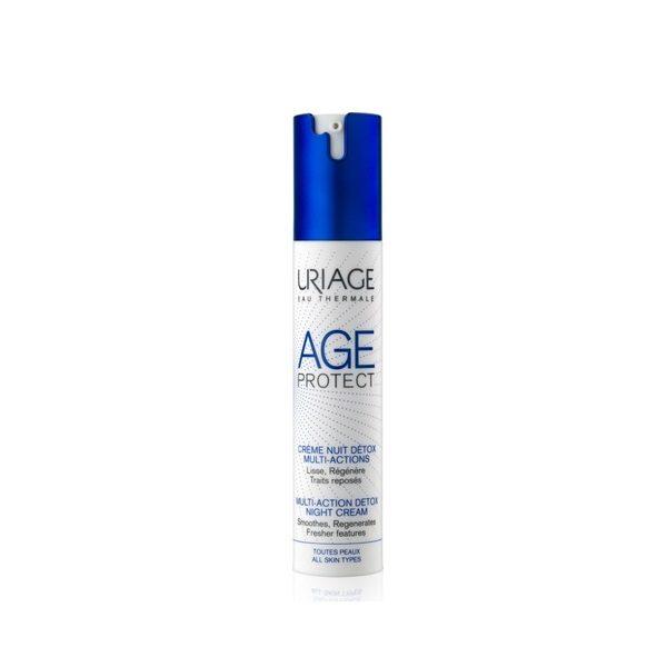 Περιποίηση Προσώπου Uriage – Age Protect Multi-Action Detox Κρέμα Νύχτας Πολλαπλών Δράσεων 40ml