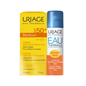 4Seasons Uriage – Eau Thermale Bariesun Cream SPF50+ 50ml with Gift Eau Thermale Thermal Water 100ml
