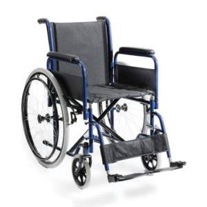 Χειροκίνητα Αμαξίδια Alfacare – Αμαξίδιο Πτυσσόμενο Standard Φουσκωτές Ρόδες AC-45