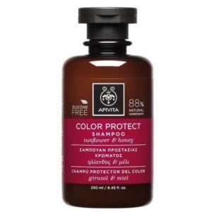 Γυναίκα Apivita – Σαμπουάν Προστασίας Χρώματος με Ηλίανθο και Μέλι 250ml