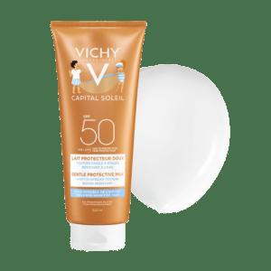 Καλοκαίρι Vichy – Ideal Soleil Gentle Milk for Children Face and Body Παιδικό Αντηλιακό Γαλάκτωμα για Ευαίσθητες Παιδικές Επιδερμίδες SPF50 300ml