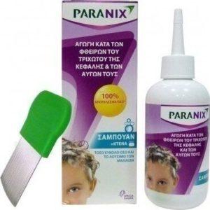 Αντιφθειρικά-Φθινόπωρο Paranix – Αγωγή Κατά των Φθειρών με Σαμπουάν και Χτενάκι 200ml