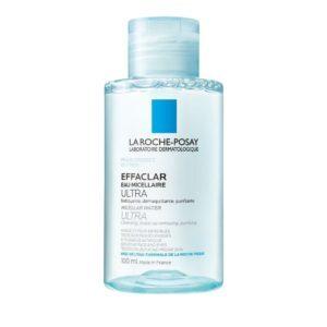 Γυναίκα La Roche Posay –  Effaclar Eau Micellaire Ultra Διάλυμα Καθαρισμού για Λιπαρό & Ευαίσθητο Δέρμα 100ml
