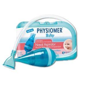 Μαμά - Παιδί Physiomer – Ρινικός Αποφρακτήρας Βρεφών 1 Τεμάχιo με 5 Προστατευτικά Φίλτρα