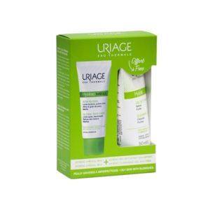Ακμή - Λιπαρότητα Uriage – Σετ Hyseac  3-Regul Ενυδατική Κρέμα Για Λιπαρές Επιδερμίδες  40ml και Δώρο Hyseac Τζέλ Καθαρισμού 50ml