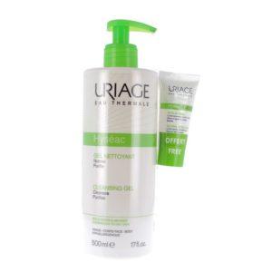 Ακμή - Λιπαρότητα Uriage – Promo Pack Hyseac Τζέλ Καθαρισμού 500ml και Δώρο Κρέμα Προσώπου Hyseac 3-Regul 15ml