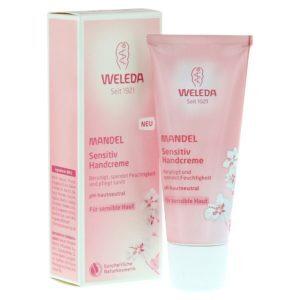 Γυναίκα Weleda – Κρέμα Χεριών με Αμύγδαλο για Ευαίσθητο Δέρμα 50ml