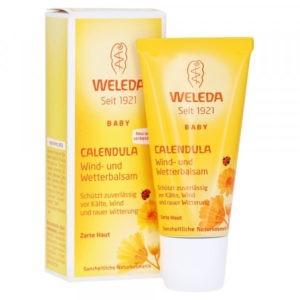 Ευαίσθητο Δέρμα Βρέφους Weleda – Κρέμα Καλέντουλας για Προστασία από το Κρύο 30ml